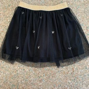 Disney Minnie Mouse Glitter Tulle Tutu Skirt